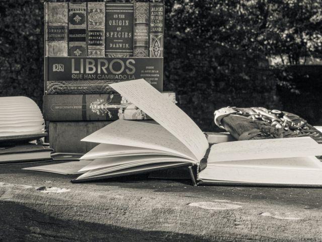 Libros y libreta, bienvenidos al blog