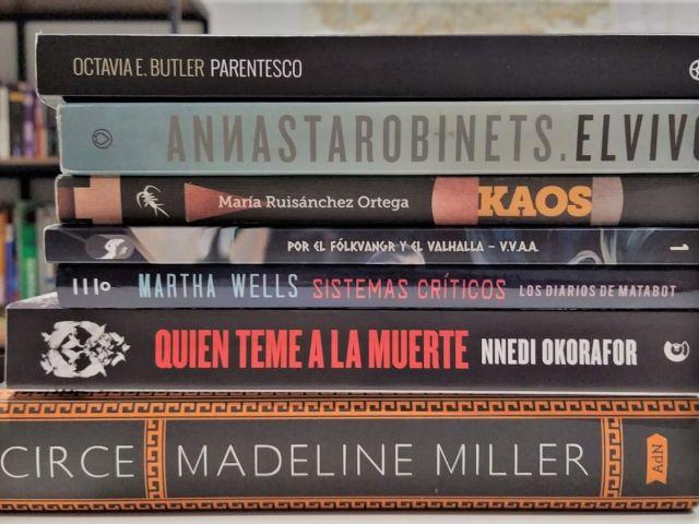 Lecturas de El Grimorio de 2019, libros donados